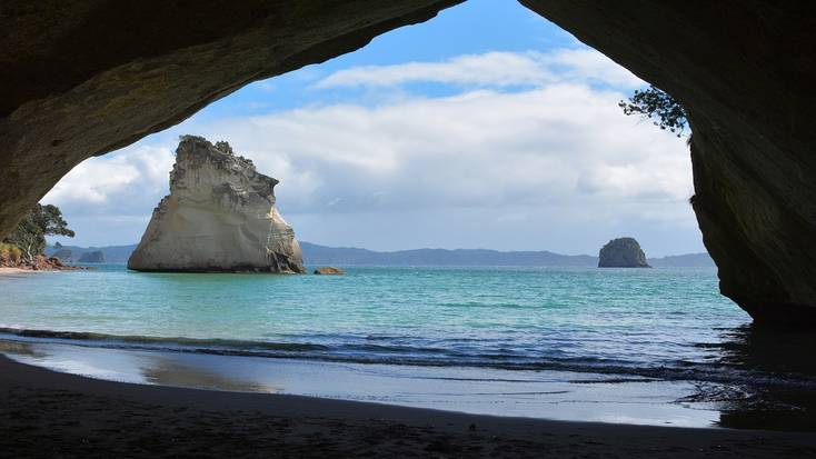 Cathedral Cove is one of the best places to travel to in 2021