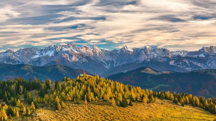Explore the mountains in Austria