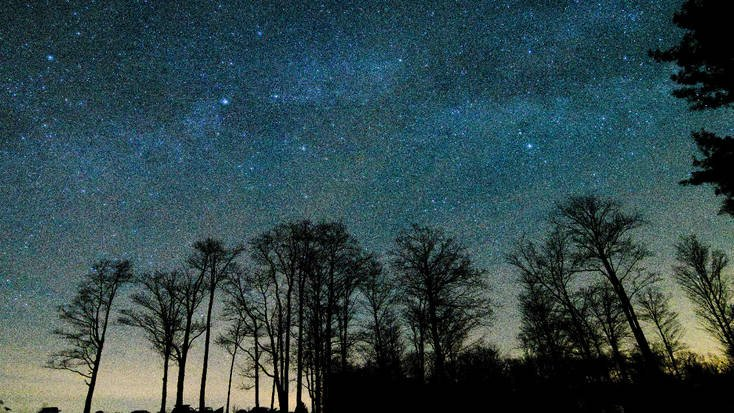 Stay in cabins near the best spots for stargazing in Cherry Springs State Park, PA