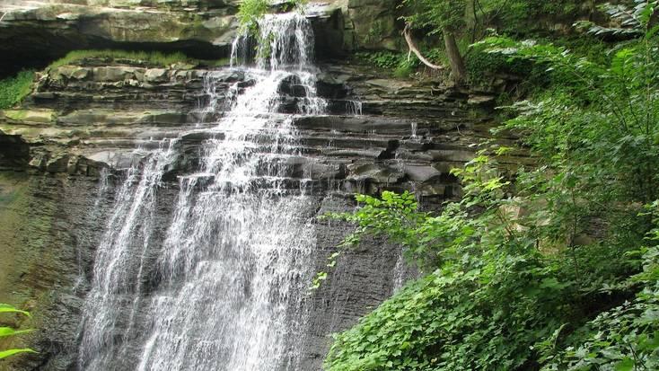 The Brandy Wine Falls in Ohio