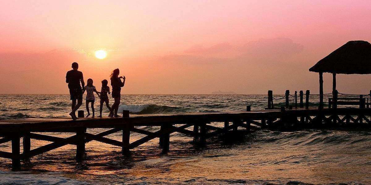 End of summer vacations for the family