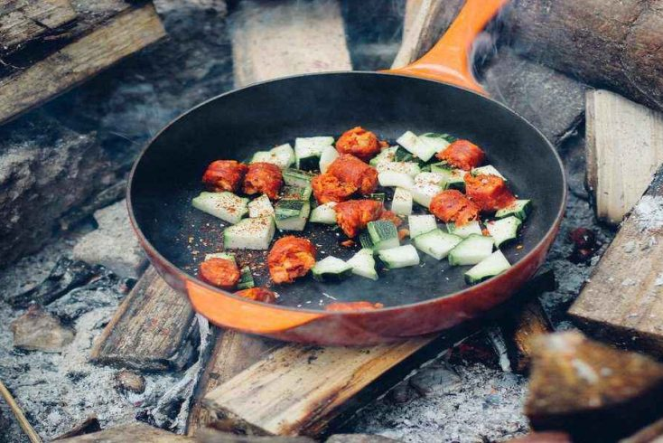 pan frying essential camping foods