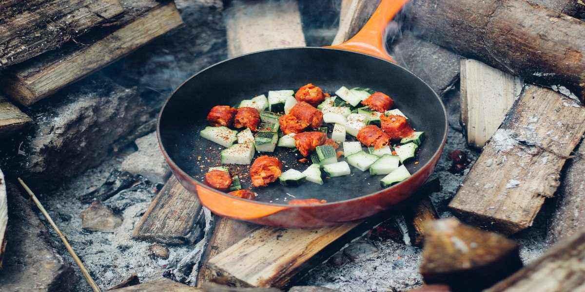 pan frying essential camping foods