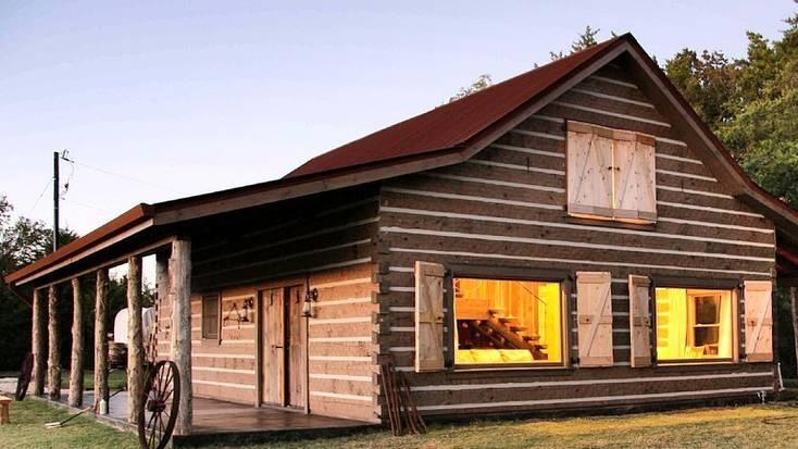 A cabin near Garner State Park, Texas