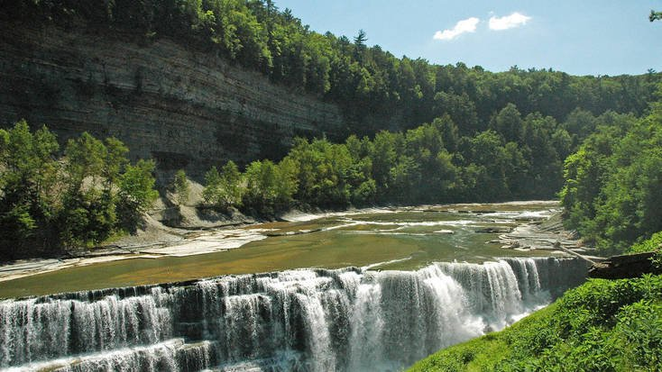 Genesee Gorge, Letchworth State Park, New York State