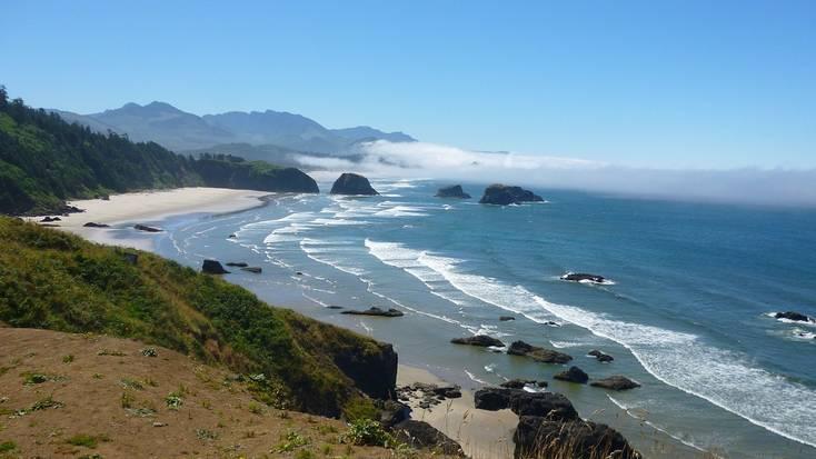 Explore the Oregon coast