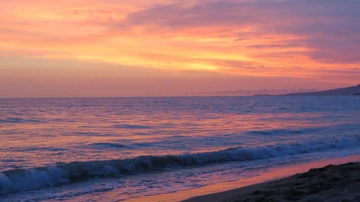Sunset over Puerto Vallarta