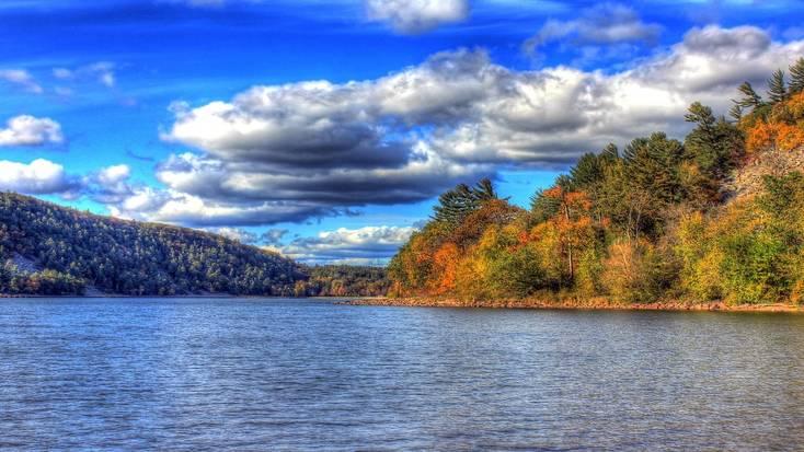 Devil's Lake in Wisconsin