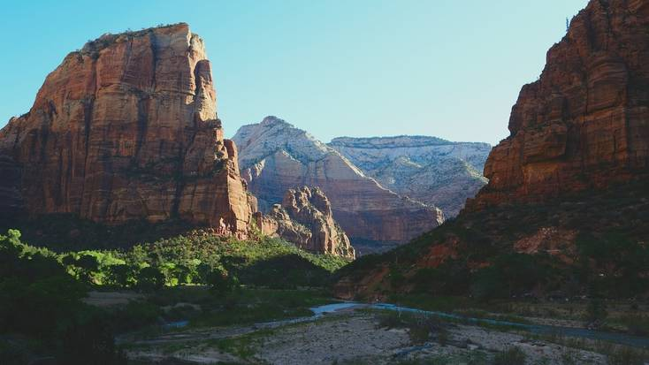 Zion National Park, ideal for vacations in Utah