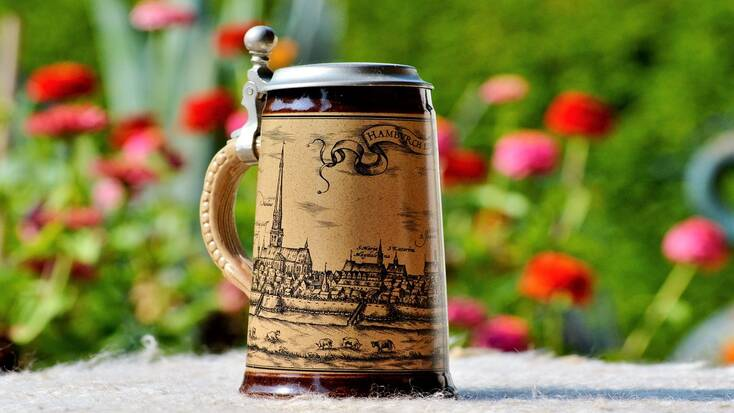 A stein for Bavarian beer