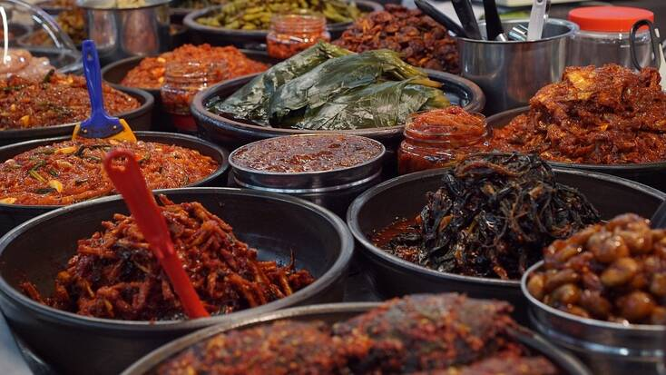 Try some different food around the world