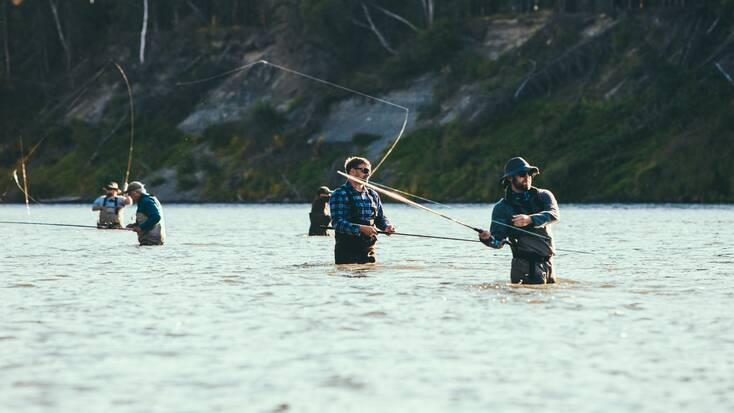 glampers freshwater fishing; tips to stay patient fishing