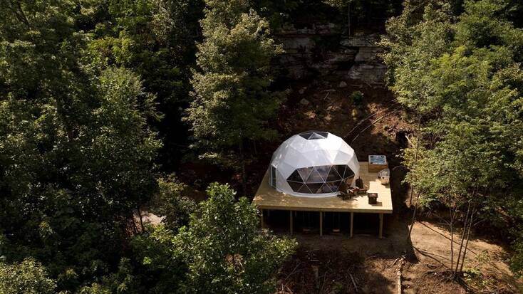 A geodome in Tennessee: best travel deals 2021