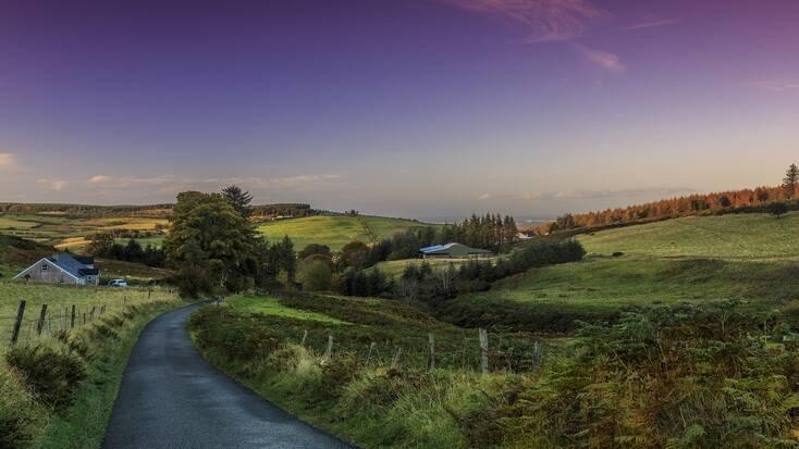 Explore the Irish countryside near Dublin, Ireland