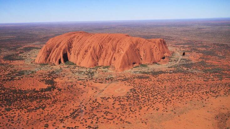 Ayers Rock, one of the most iconic places to visit in Australia