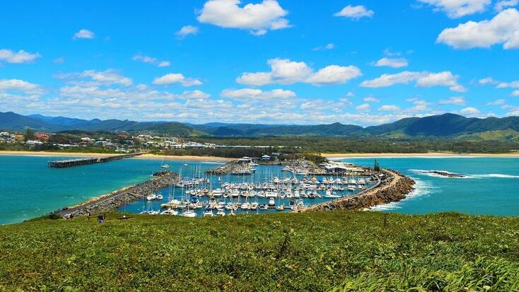A view over Coffs Harbour, NSW