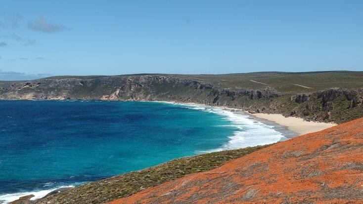 A beach on Kangaroo Island