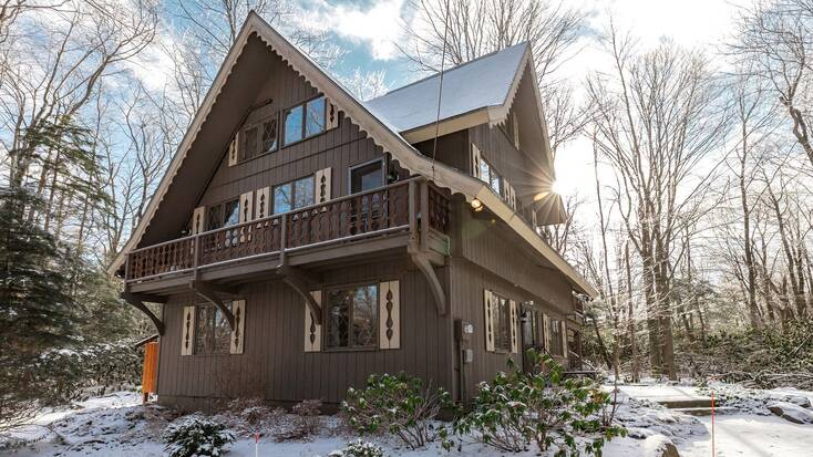 Stay in one of our Pocono cabin rentals