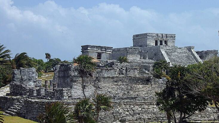 Ruins on the Riviera Maya, Mexico