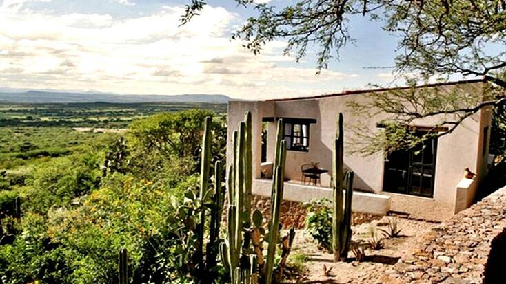 A villa near San Miguel de Allende for romantic getaways in Mexico