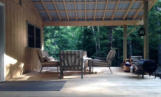 Stay in luxury cabin rentals in Upstate New York