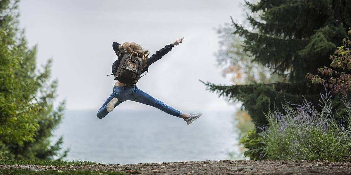 A hiker enjoying the best weekend getaways