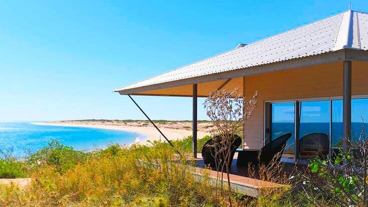 A beachside vacation rental on Eighty Mile Beach
