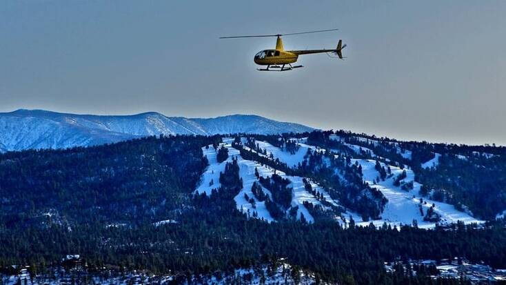 Helicopter rides with Helicopter Big Bear