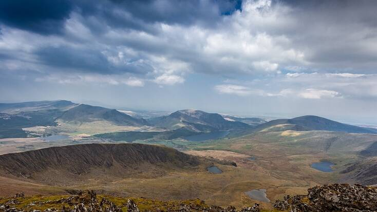 Visit Snowdonia when you go glamping in Wales