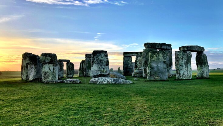 Stonehenge, one of several iconic landmarks in Wiltshire
