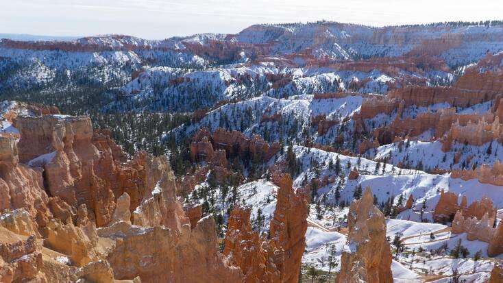 Utah in the winter