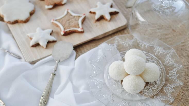 Homemade Christmas desserts