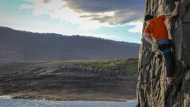 Climb Mount Brown in Tasmania on Australia Day