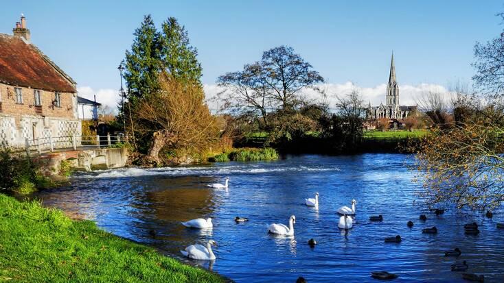 Salisbury, Wiltshire, near Wilton House