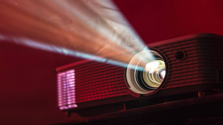 Set up a home cinema for one of your Valentine's Day ideas