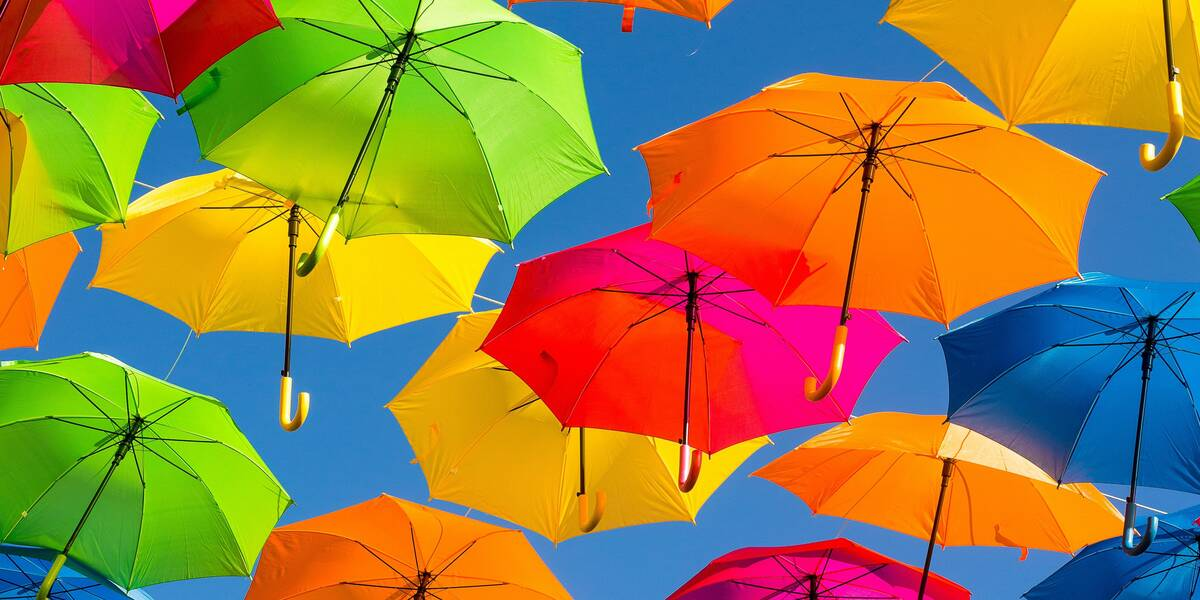 Celebrate Umbrella Day
