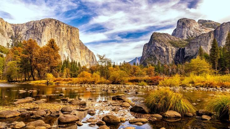 Views of El Capitan, Yosemite National Park