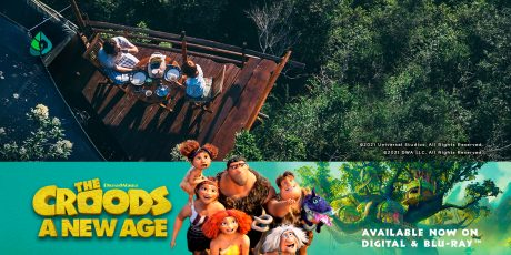 Giveaway: Win a travel gift card to go on a wild family adventure, just like in The Croods: A New Age!