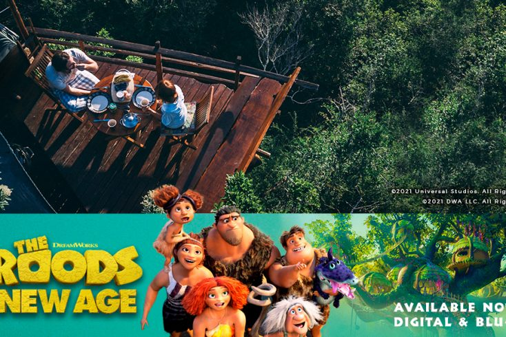 Glamping Giveaway with The Croods