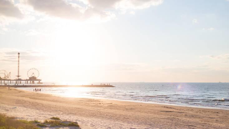 Spend Easter Weekend on Galveston Beach