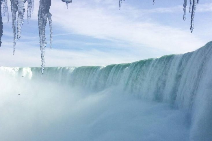 Niagara Falls Runs Dry Day