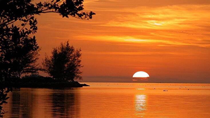 A sunset, Key West, Florida