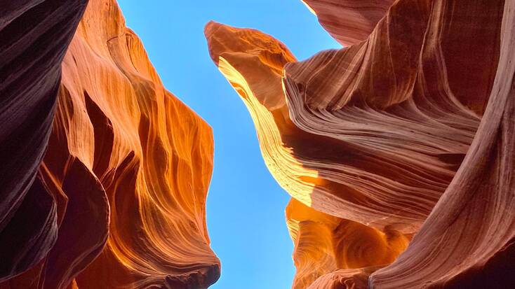 Hike Antelope Canyon, one of the best things to do in Arizona