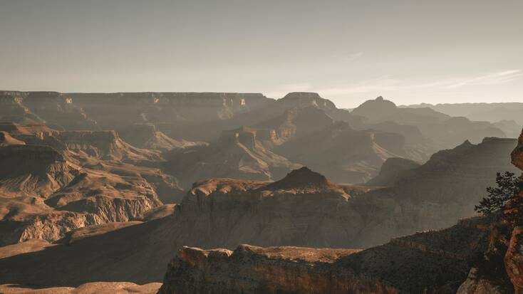 A view over the Grand Canyon, Arizona