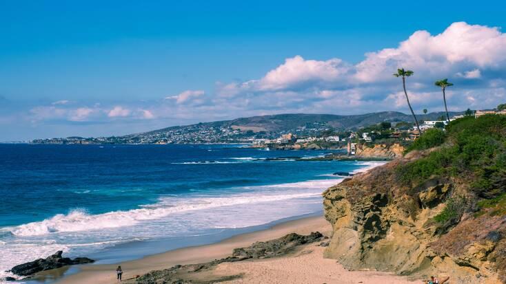 Beach getaways in California
