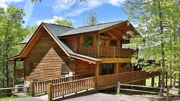 A family cabin rental in Tennessee