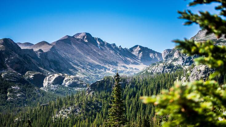 Estes Park, Colorado, one of the best places to travel to in Colorado