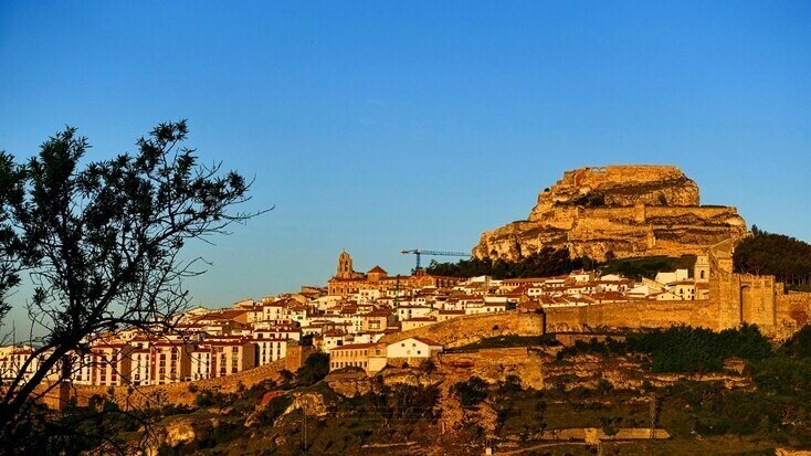The citadel in Morella, a quiet spot to visit on your holidays in Valencia