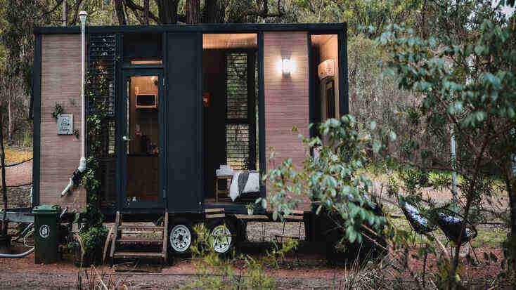 Tiny house rental for an Australian escape.