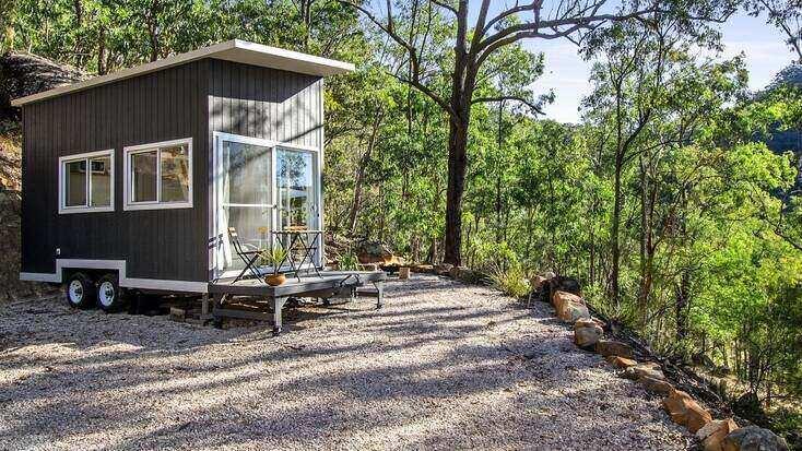 Tiny house getaway in Australia.